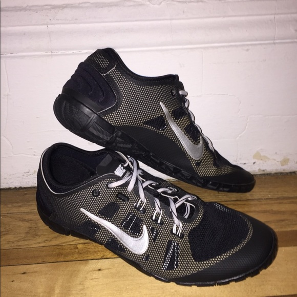 Womens Nike Free Bionic Running Minimalist Shoes Size: 6.5 Color: Black